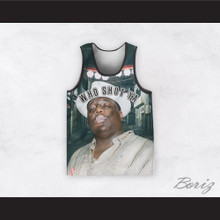 Biggie Smalls 09 Who Shot Ya Basketball Jersey Design 1