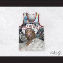 Biggie Smalls 09 Who Shot Ya Basketball Jersey Design 3