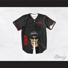 Eazy-E 07 N.W.A. Compton Baseball Jersey Design 2