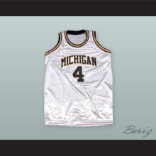 Chris Webber 4 Michigan Basketball Jersey