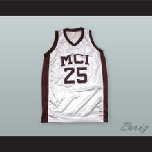 Karlton 'Dunkin' Hines 25 MCI Basketball Jersey