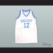 Kenny Anderson 12 Archbishop Molloy Basketball Jersey