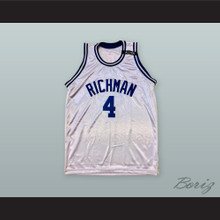 Tyron 'Alimoe' Evans 4 Julia Richman High School Basketball Jersey