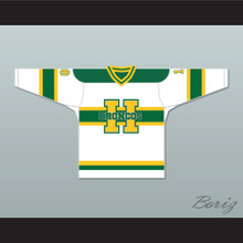 Humboldt Broncos 18 White Alternate Hockey Jersey