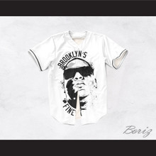 Notorious B.I.G. 35 Brooklyn's Finest Baseball Jersey Design 1