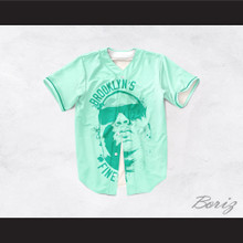 Notorious B.I.G. 35 Brooklyn's Finest Baseball Jersey Design 2