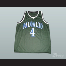Jeremy Lin Palo Alto Vikings High School Basketball Jersey Green