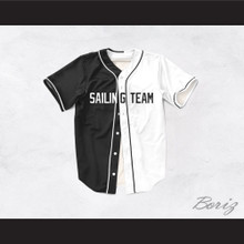 Lil Yachty Lil Boat 44 Sailing Team Black/White Dye Sublimation Baseball Jersey