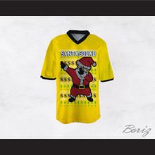 Santa Squad Football Jersey Design 3