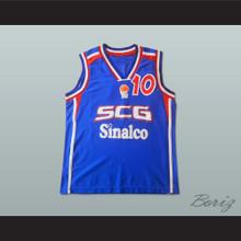Marko Jaric 10 Serbia and Montenegro Basketball Jersey Stitch Sewn