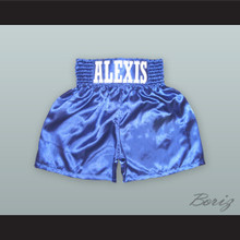 Alexis Argüello Blue Boxing Shorts