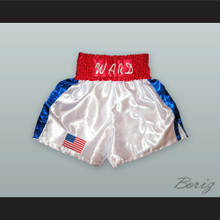 'Irish' Micky Ward White Boxing Shorts