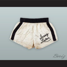 Sonny Liston White Boxing Shorts