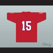 David Childers 15 Shiloh Christian Academy Eagles Football Jersey Facing The Giants