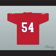 Brock Kelley 54 Shiloh Christian Academy Eagles Football Jersey Facing The Giants