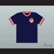 Dave Logan 8 Pioneers Away Baseball Jersey Hardball Sitcom