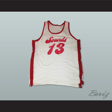Memphis Collis Jones 13 Old School Basketball Jersey Stitch Sewn