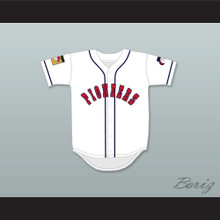 Arnold Nixon 5 Pioneers Home Baseball Jersey Hardball Sitcom