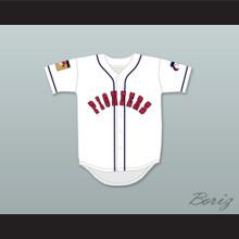 Dave Logan 8 Pioneers Home Baseball Jersey Hardball Sitcom
