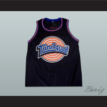 Michael Jordan Space Jam Tune Squad Black Basketball Jersey