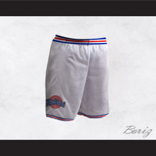 Space Jam Tune Squad White Basketball Shorts