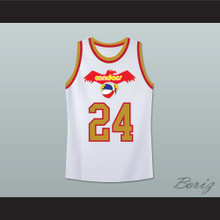 Pittsburgh Mike Lewis 24 Old School Basketball Jersey Stitch Sewn New