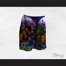 Space Jam Monstars Basketball Shorts Design 2