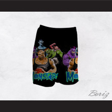 Space Jam Monstars Basketball Shorts Design 3
