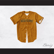 Hooligans 24K Brown Baseball Jersey