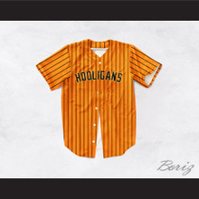 Hooligans 24K Orange Baseball Jersey