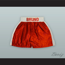 Frank Bruno Red Boxing Shorts