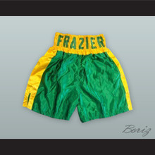 Joe Frazier Green Boxing Shorts