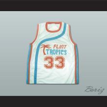 Flint Tropics Jackie Moon Semi Pro Basketball Jersey
