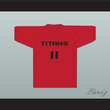 Dick Downs 11 Titans Intramural Flag Football Jersey Balls Out