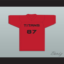 Thad Rufio Johnson 87 Titans Intramural Flag Football Jersey Balls Out