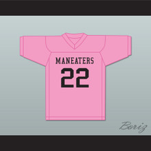 Player 22 Maneaters Intramural Flag Football Jersey Balls Out