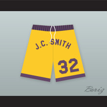 "Earl ""The Goat"" Manigault 32 J.C. Smith College Basketball Shorts"