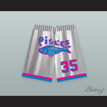 Moses Guthrie 35 Pittsburgh Pisces Basketball Shorts