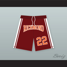 Timo Cruz 22 Richmond Oilers Home Basketball Shorts