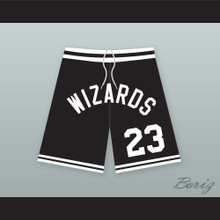 TJ Henderson 23 Wizards Basketball Shorts