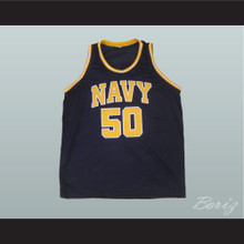 David Robinson 50 Navy Basketball Jersey