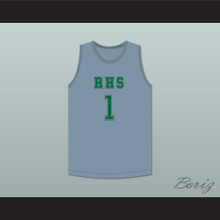 Terron Forte 1 RHS Gray Basketball Jersey Amateur
