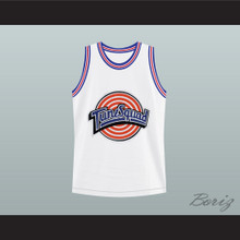 Space Jam Tune Squad Larry Johnson Basketball Jersey Stitch Sewn New