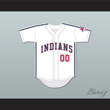 Willie Mays Hayes 00 White Baseball Jersey Major League II