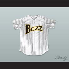 Pedro Cerrano 13 Buzz White Pinstriped Baseball Jersey Major League: Back to the Minors
