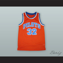 Jason Kidd 32 St. Joseph Notre Dame High School Pilots Orange Basketball Jersey