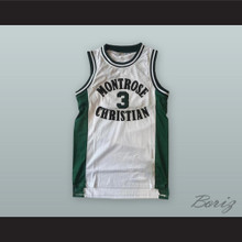 Kevin Durant 3 Montrose Christian School Basketball Jersey
