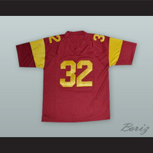 O. J. Simpson 32 USC Red Football Jersey