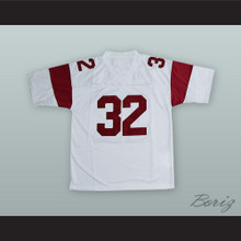 O. J. Simpson 32 USC White Football Jersey
