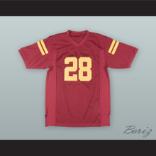 O. J. Simpson 28 USC Red Football Jersey
